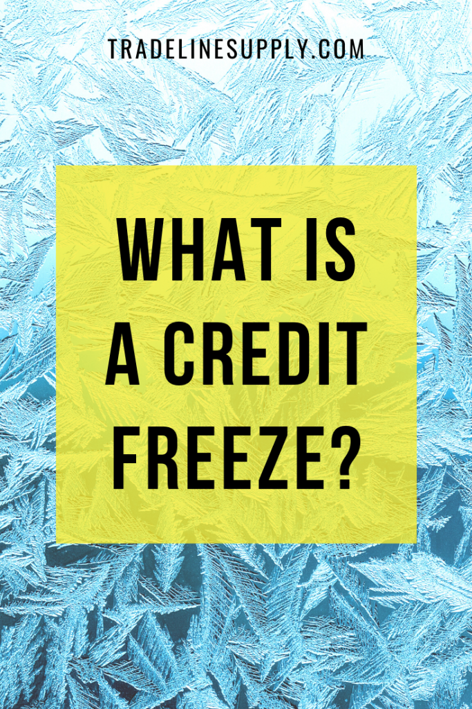 What Is a Credit Freeze - Pinterest