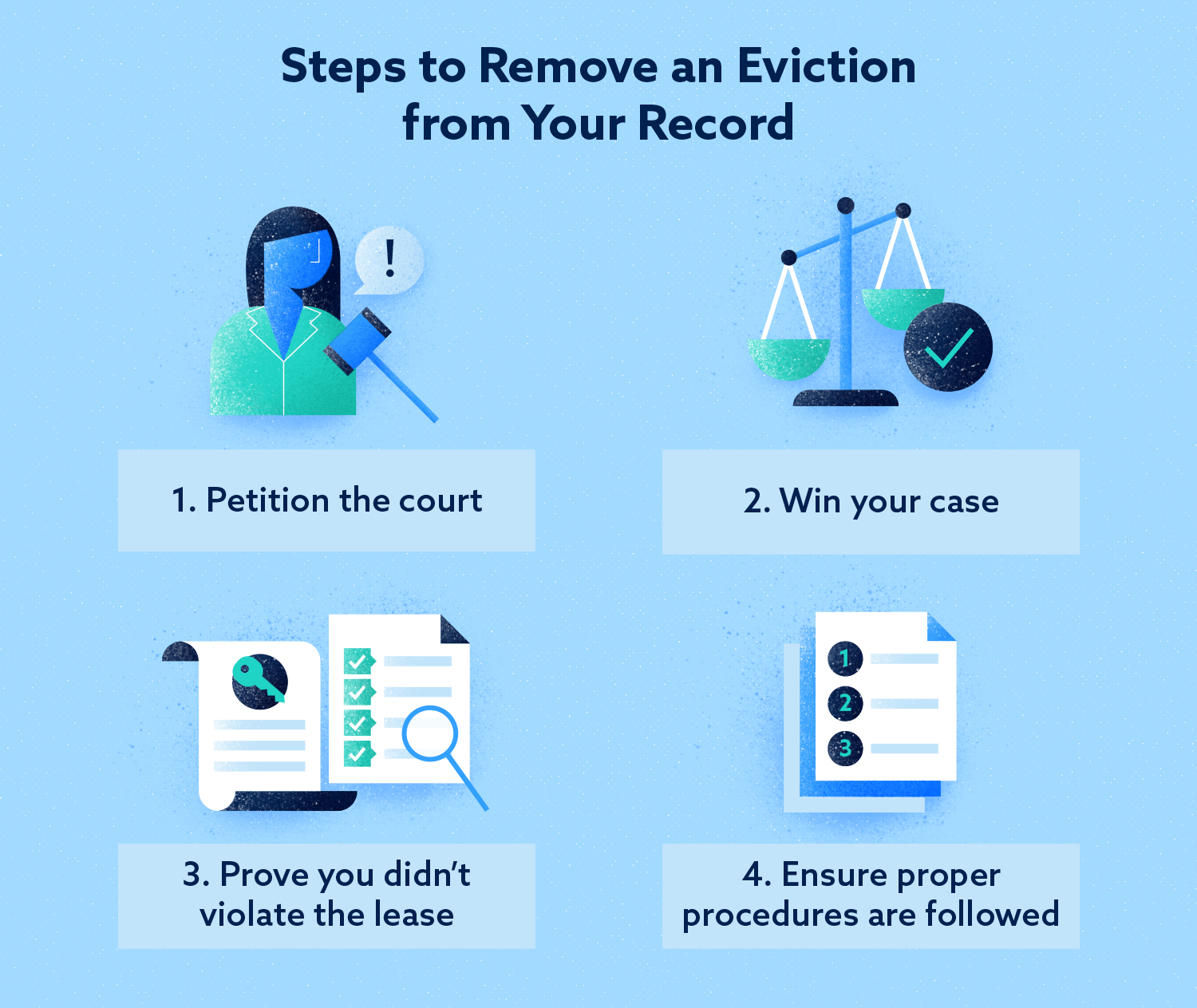 Steps to Remove an Eviction from Your Record Image