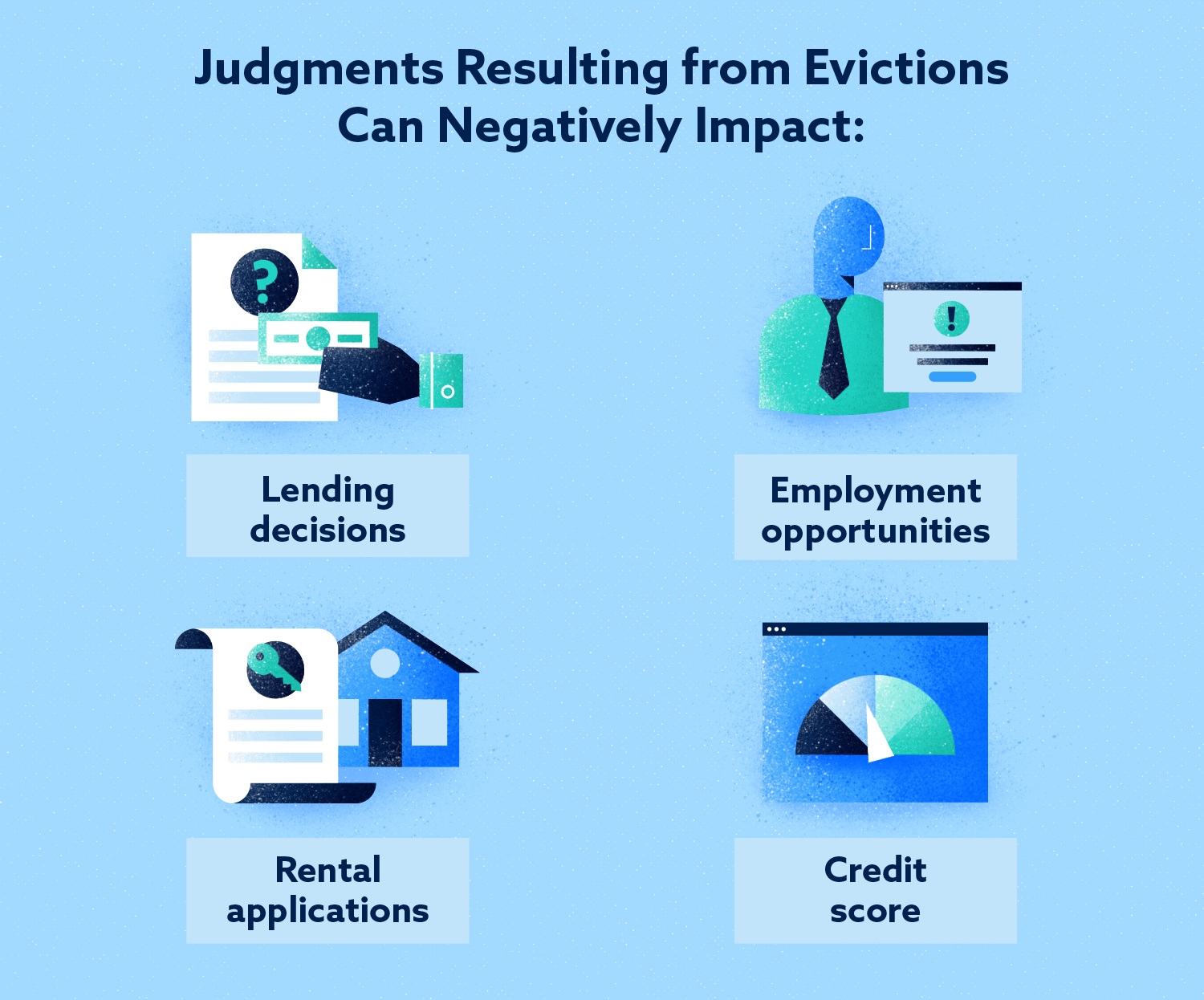 Judgements Resulting from Evictions Can Negatively Impact Image