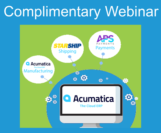 Acumatica MFG Shipping and Payments without Register Now