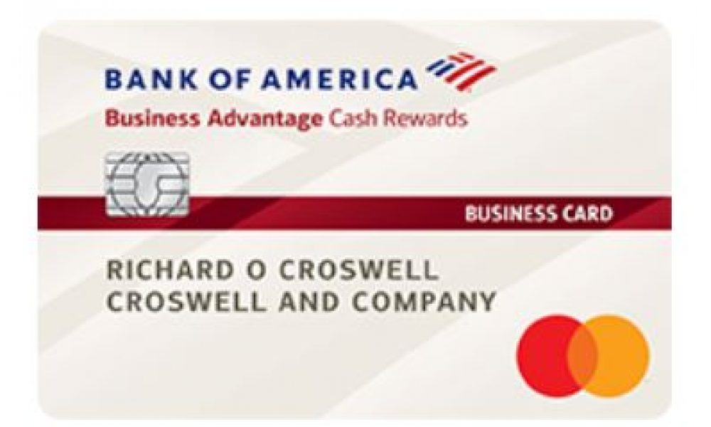 Bank of America $300 Cash Rewards Business Card Offer