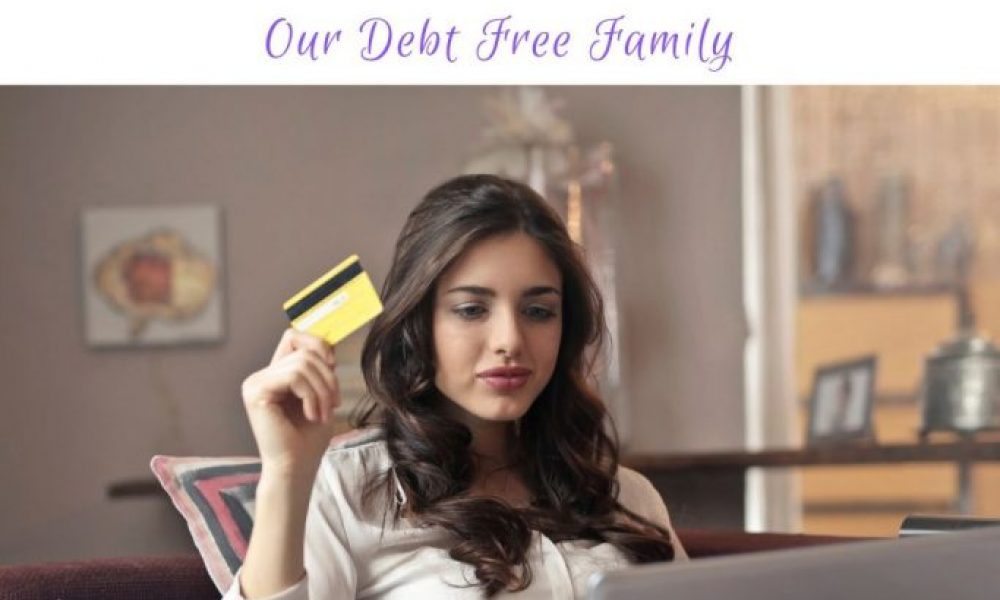 We Are Officially Credit Card Debt Free!
