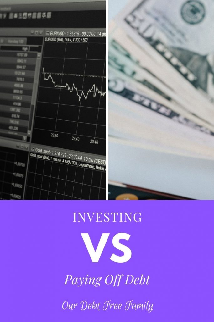investing or paying off debt